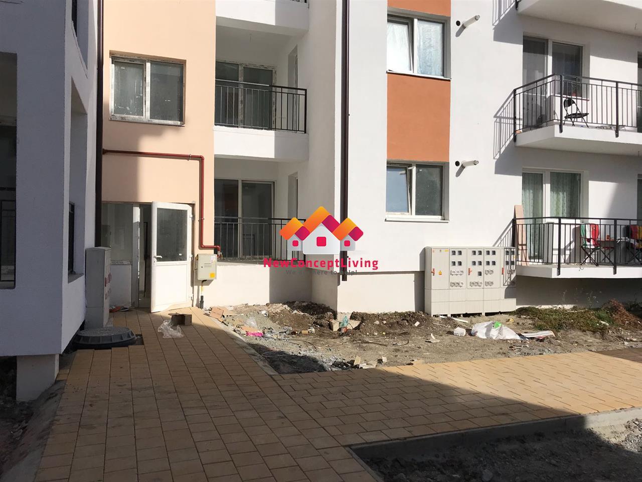Apartament 2 camere de vanzare in Sibiu-bucatarie separata-gradina