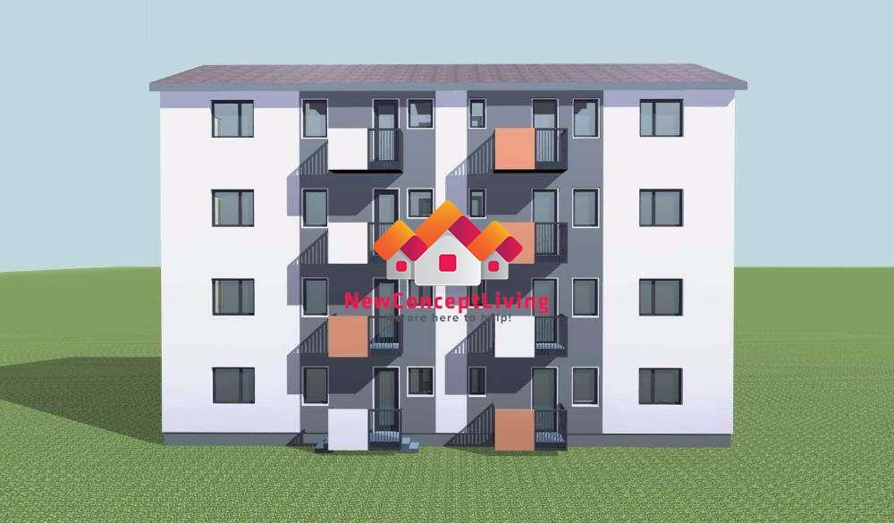 Apartament 2 camere de vanzare in Sibiu- cu gradina de 105mp