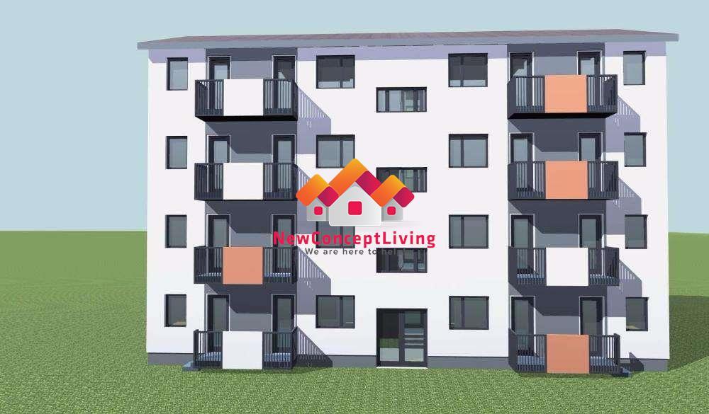 Apartament 3 camere de vanzare in Sibiu -baie cu geam