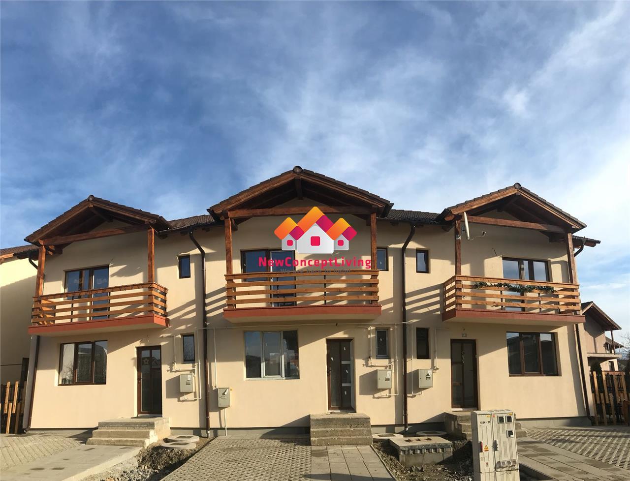 Casa de vanzare in Sibiu tip Triplex la Alb + Gradina spatioasa