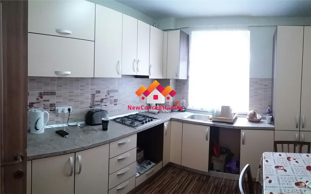 Apartament 3 camere, decomandat, etajul 1, renovat si utilat