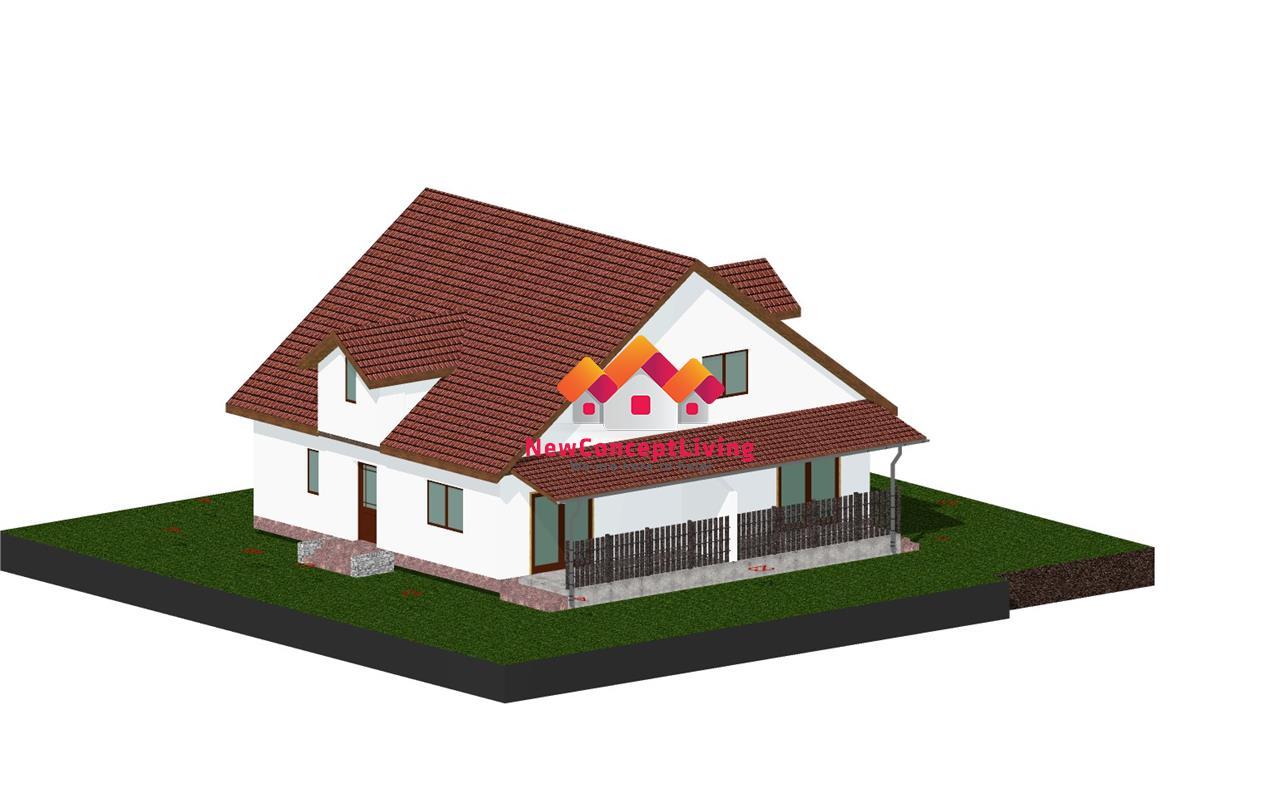 Casa tip Duplex de Vanzare in Sibiu - Gradina Spatioasa