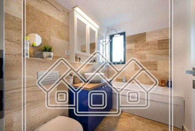 3-room apartment for sale in Sibiu - furnished and equipped