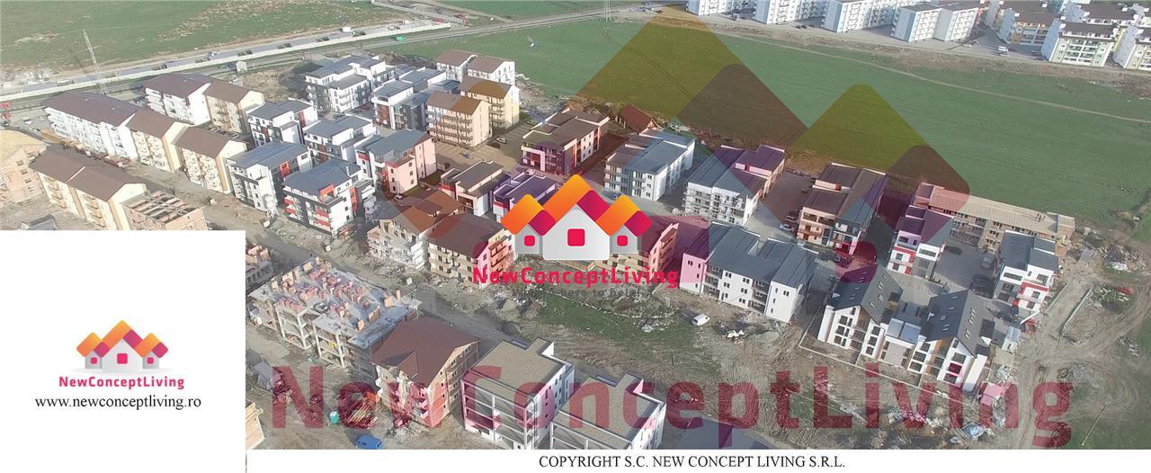 Apartament de vanzare in Sibiu- 2 camere- 32.6 mp