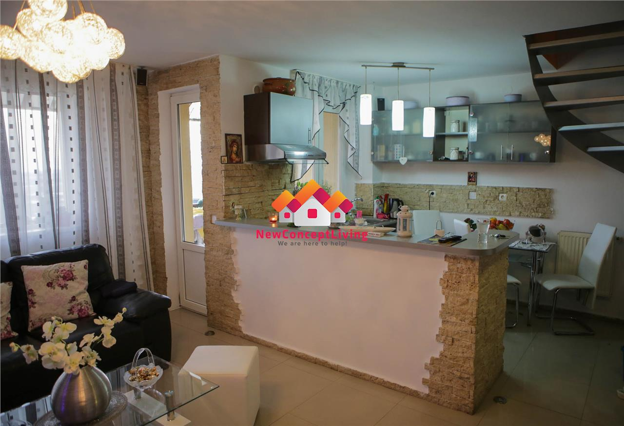 Apartament de vanzare in Sibiu - 3 camere - complet mobilat si utilat