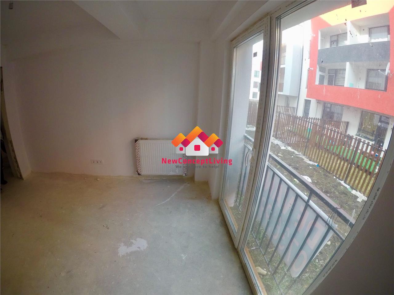Apartament 2 camere de vanzare in Sibiu, cu gradina zona Ciresica
