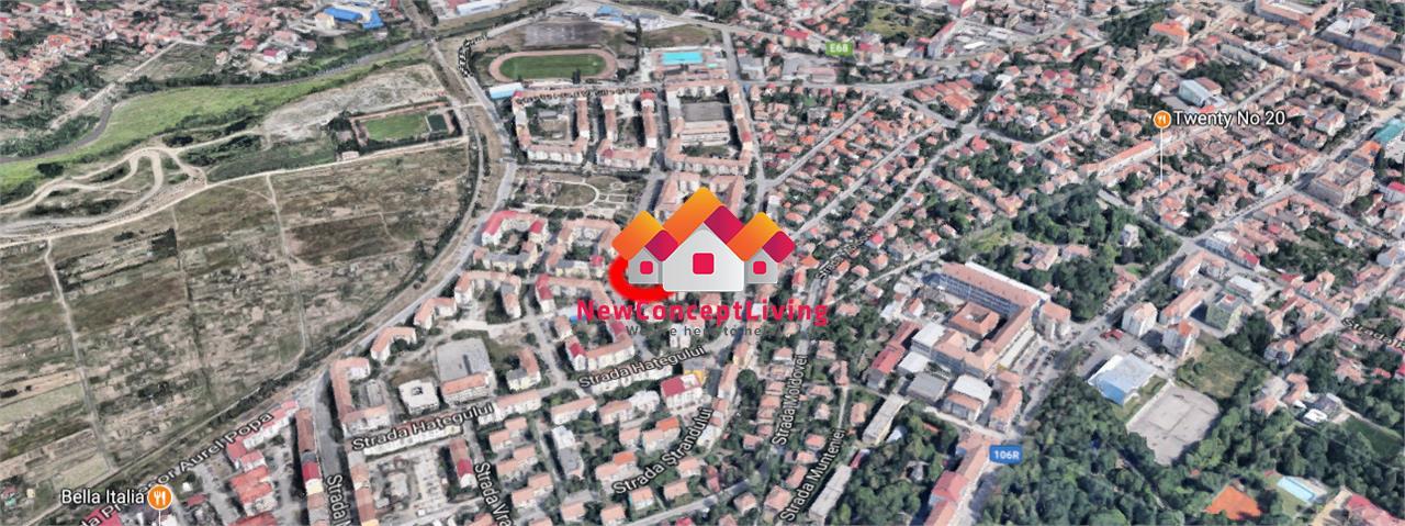 Apartament de inchiriat in Sibiu, mobilat si utilat- zona Strand