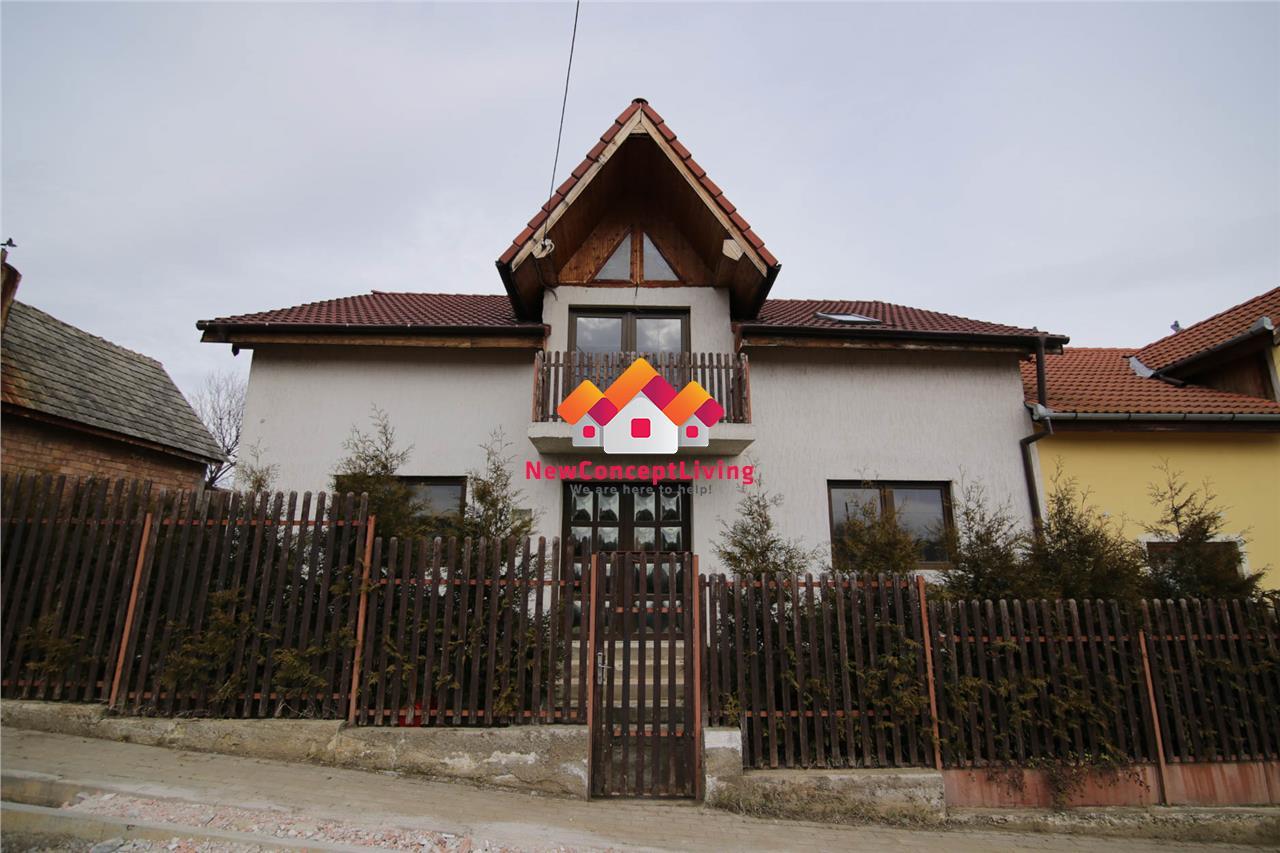 Casa de vanzare in Sibiu - 160mp utili + curte - Sura Mare