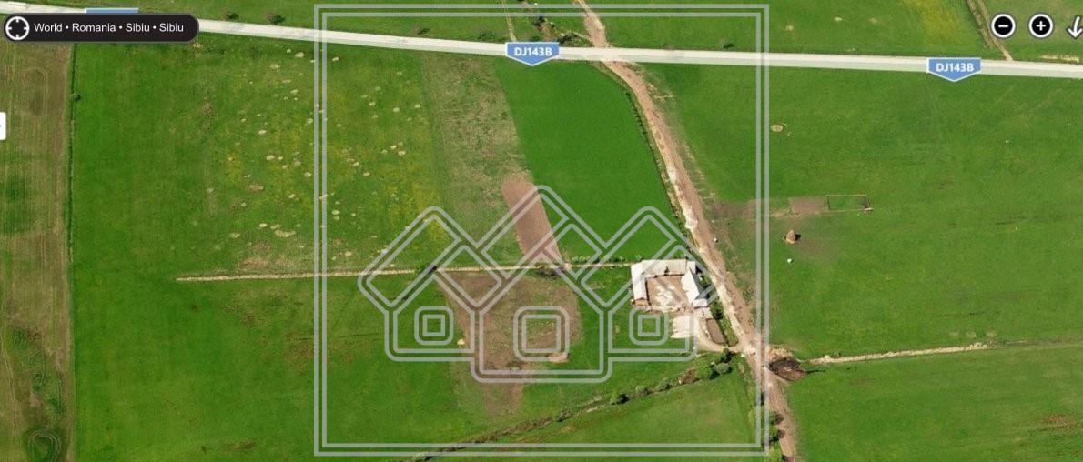 Teren de vanzare in Sibiu - 7100 mp -reper Complex Magnolia