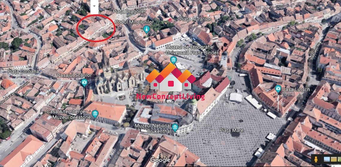 Apartament 2 camere de vanzare in Sibiu, ultracentral, LUX