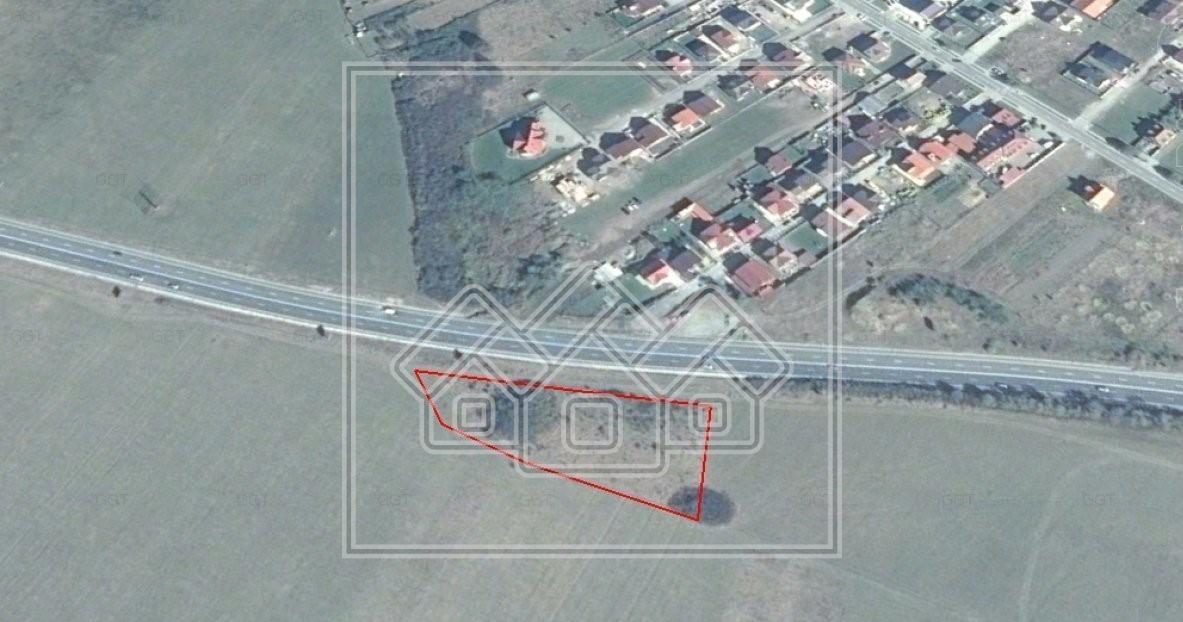 Teren de vanzare in Sibiu - 6.500 mp- DN1 Selimbar