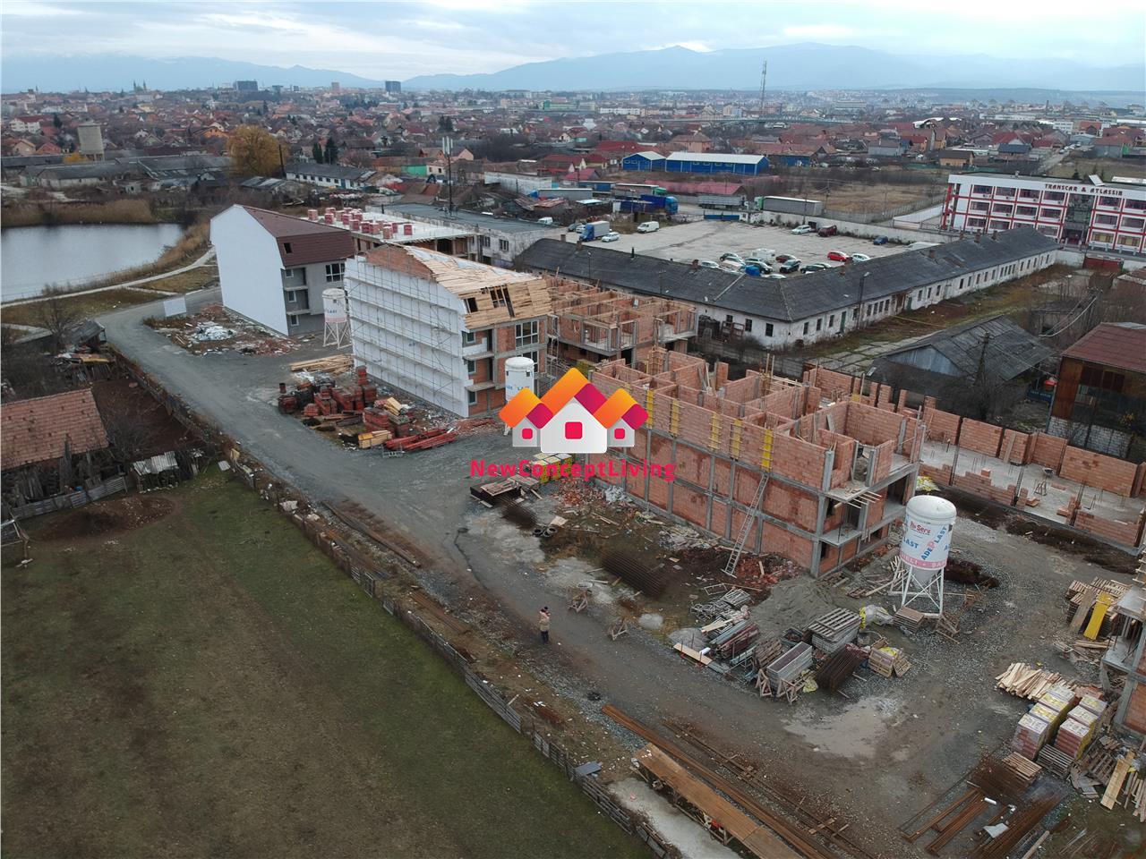 Apartament de vanzare in Sibiu - 4 camere- bucatarie separata