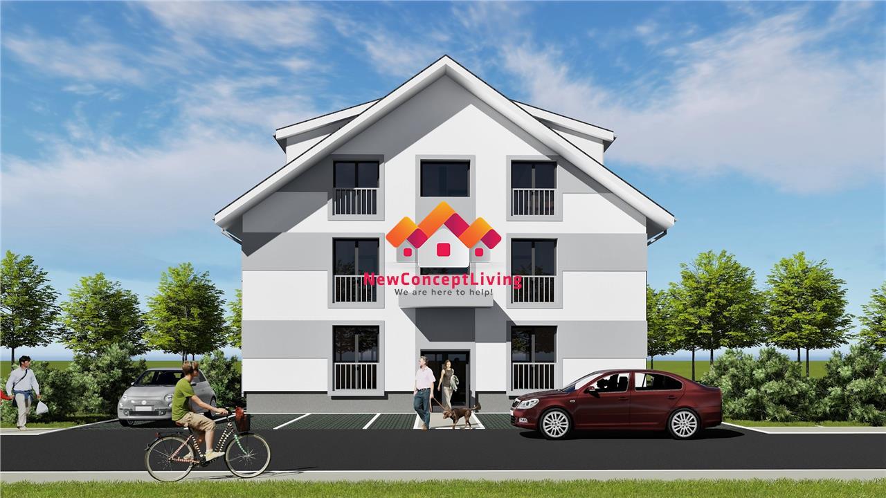 Apartament 3 camere in Sibiu - Etaj 1 la vila -  2 bai, 2 parcari