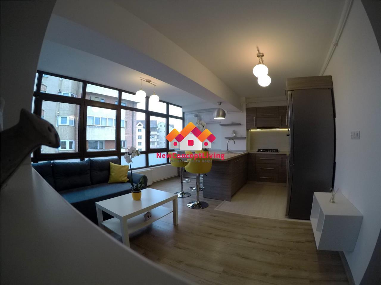 Apartament de inchiriat in Sibiu mobilat si utilat modern
