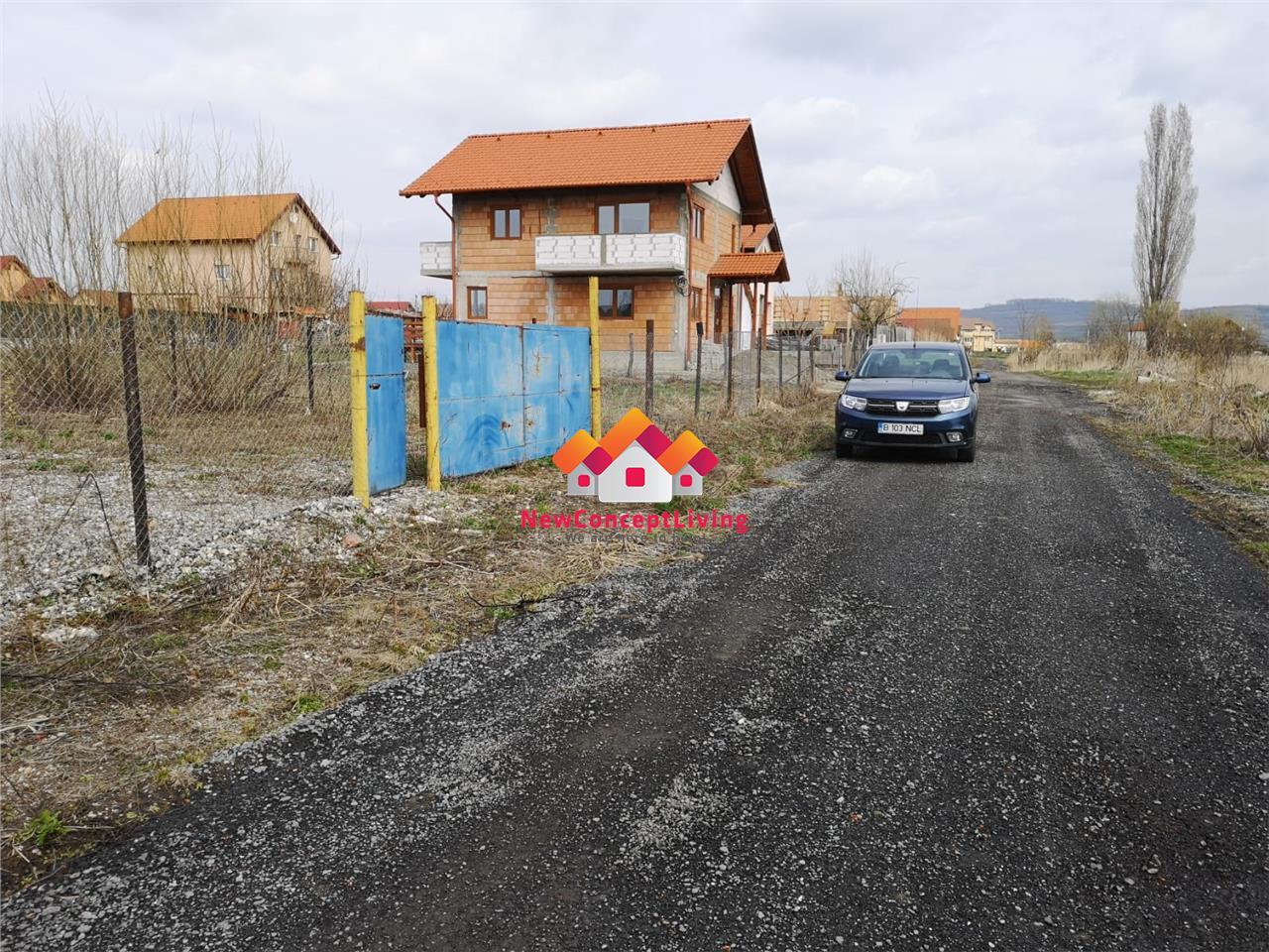 Teren Intravilan de vanzare in Sibiu - cartier Veterani - 500 mp