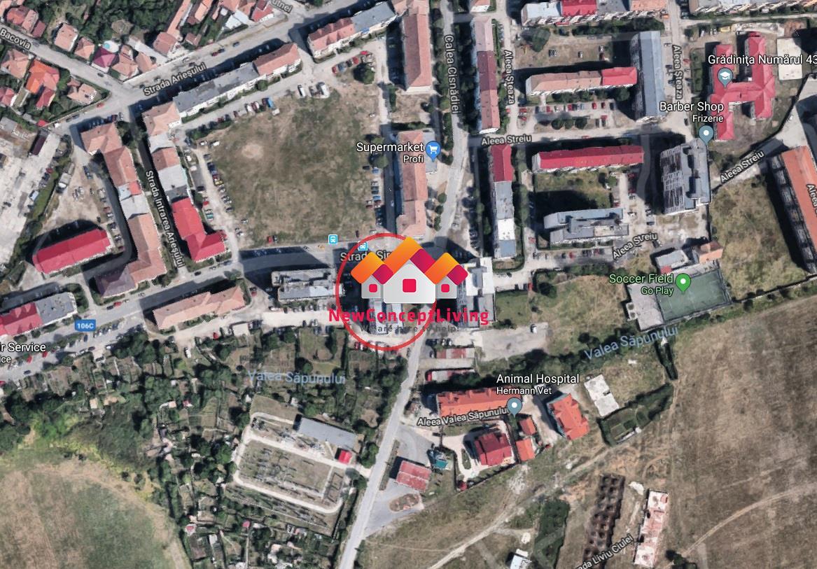 Apartament de vanzare in Sibiu, 3 camere, etaj intermediar