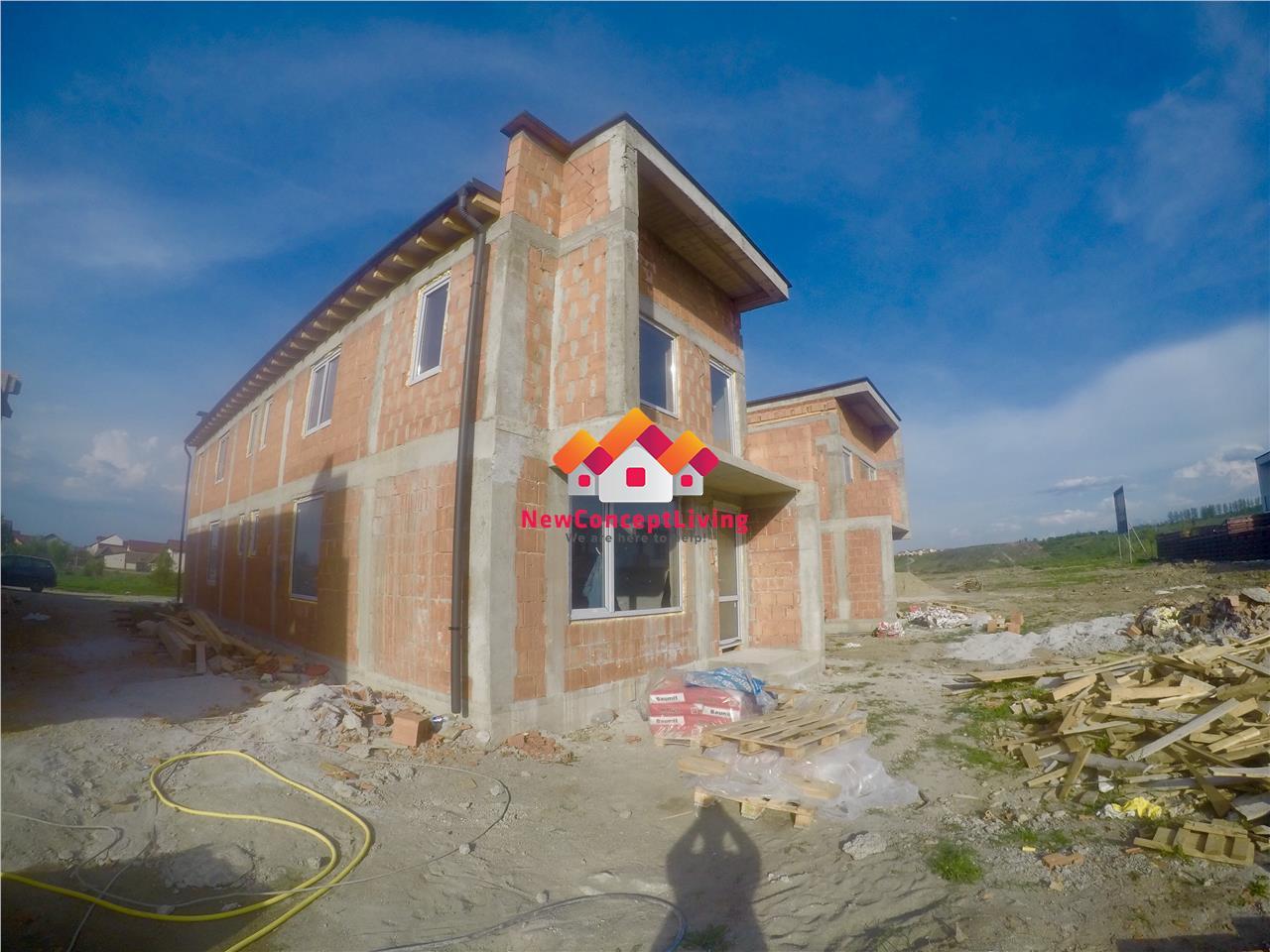 Casa qvadruplex de vanzare in Sibiu - 4 camere