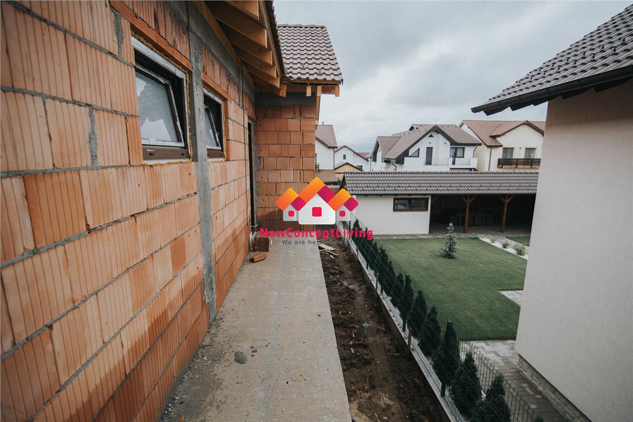 Casa de vanzare in Sibiu - 3 camere - 105mp utili + teren