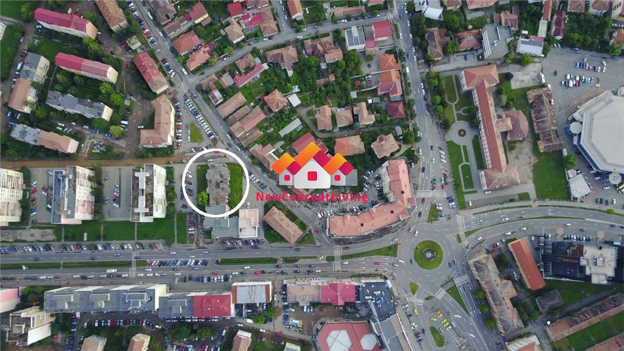 Spatiu comercial de vanzare in Sibiu - zona Premium