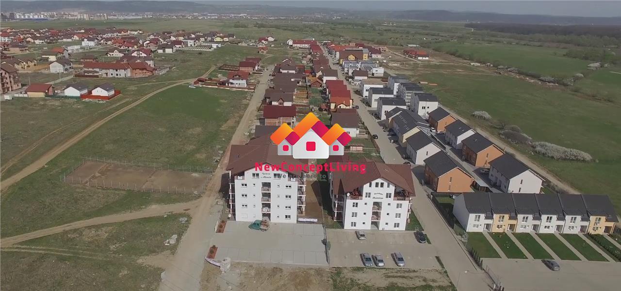 Apartament de vanzare in Sibiu - 2 camere - terasa generoasa
