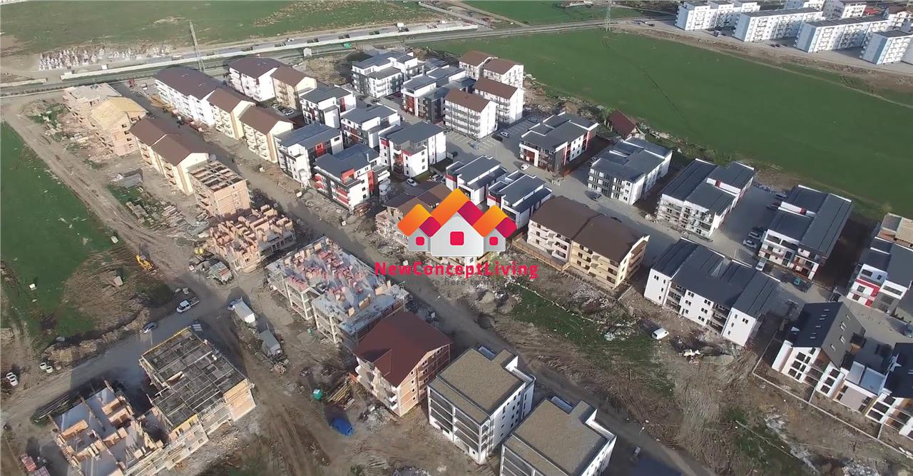 Apartament de vanzare in Sibiu - 2 camere - parcare subterana