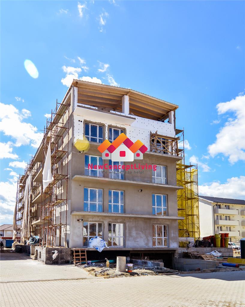 Apartament de vanzare in Sibiu - 3 camere - parcare subterana