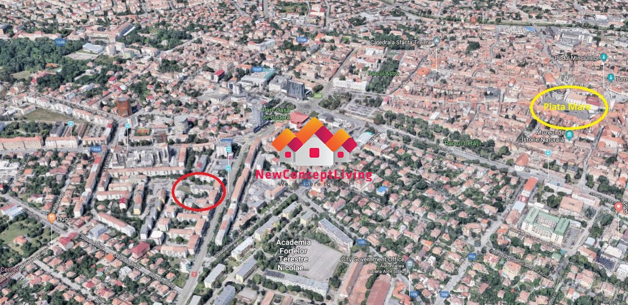 Spatiu comercial de inchiriat in Sibiu - zona Bdul V.Milea