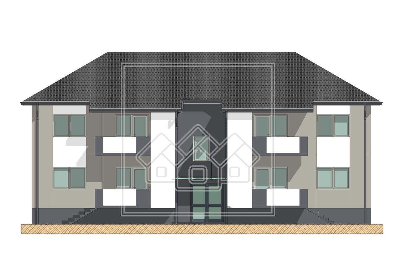 Apartament de vanzare in Sibiu- 2 camere si gradina proprie