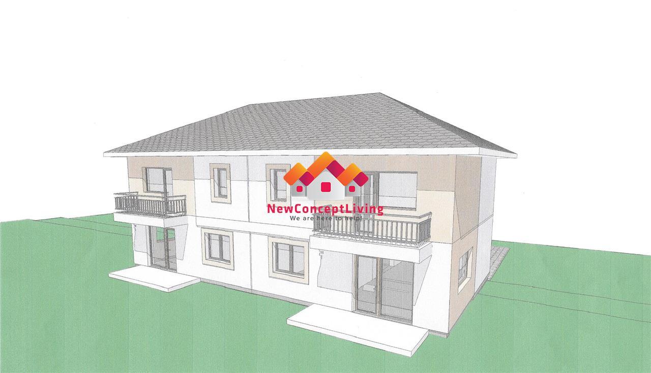 Casa de vanzare in Sibiu, Duplex 115mp + 225 Teren, Cisnaide
