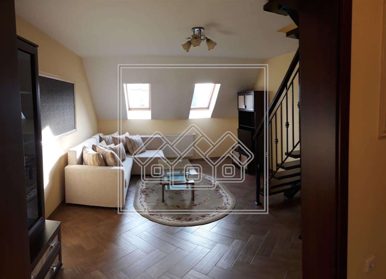 Apartament 3 camere de inchiriat-mobilat si utilat de lux