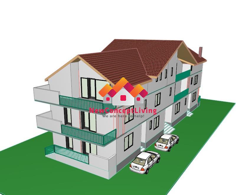 Apartament 3 camere de vanzare in Sibiu - Decomandat - Etaj 2