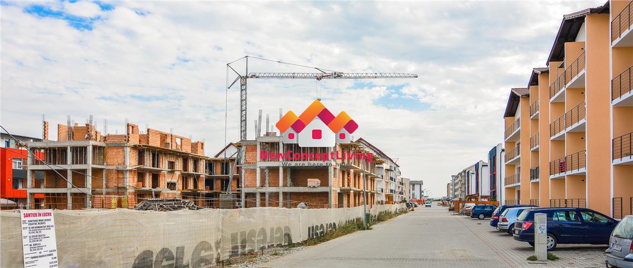 Apartament de vanzare in Sibiu cu gradina 40mp