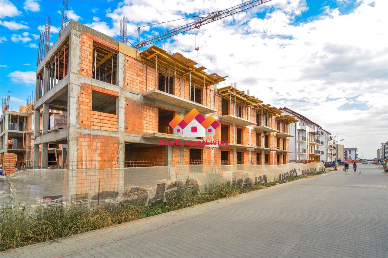 Apartament de vanzare in Sibiu cu gradina de 123 mp