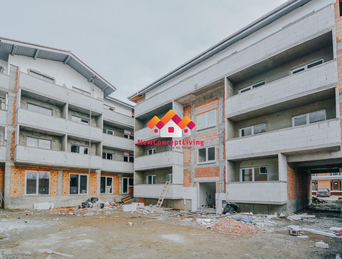 Apartament de vanzare in Sibiu - 2 camere- cu gradina
