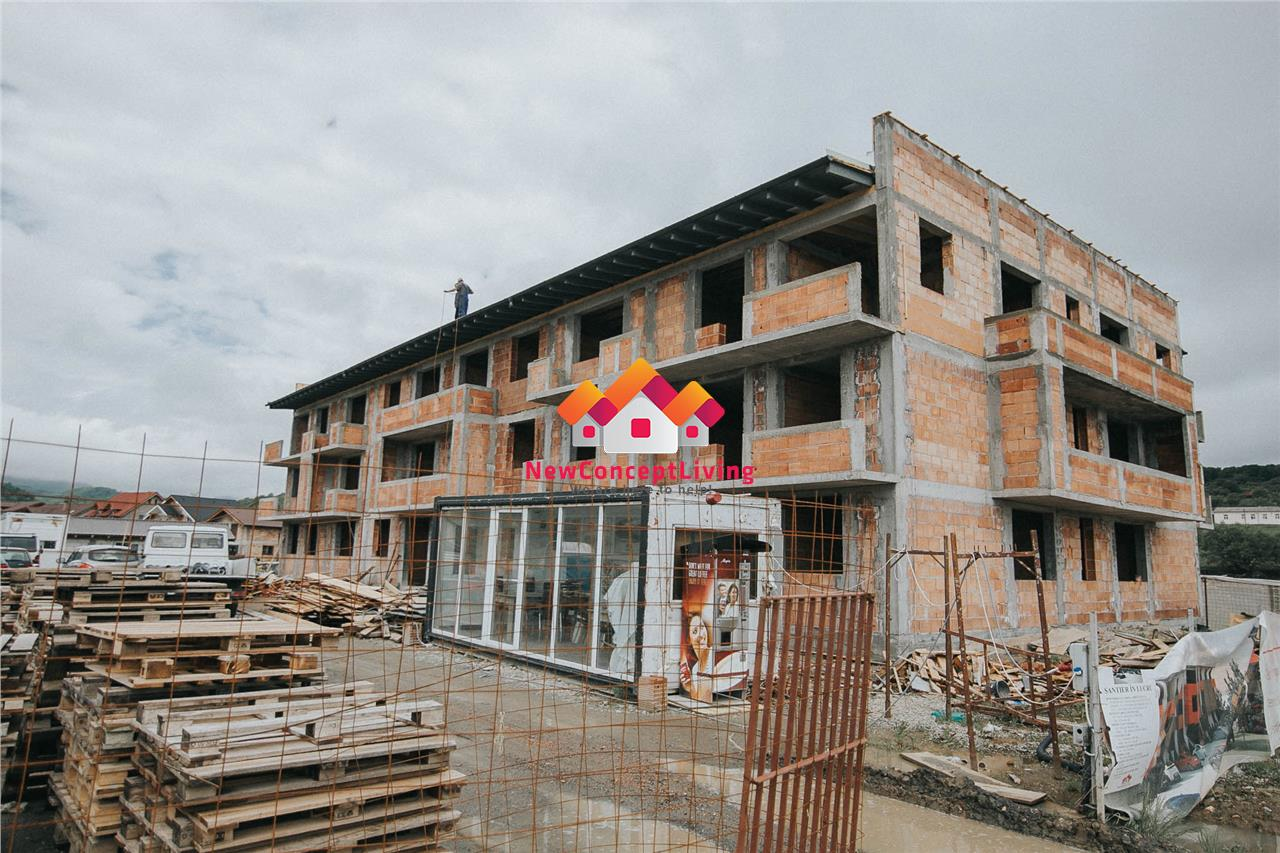 Garsoniera de vanzare in Sibiu (Cisnadie) 28.3 mp - etaj intermediar