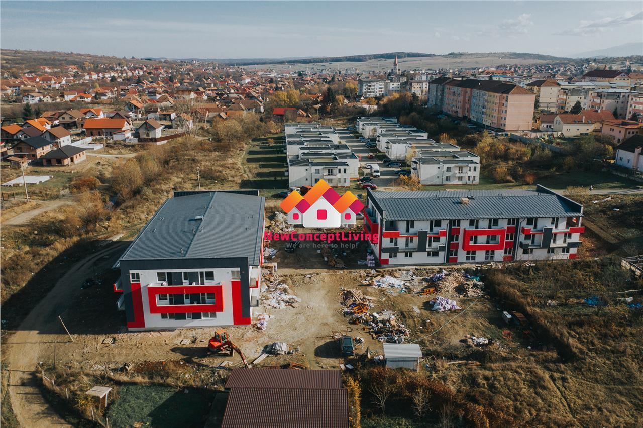 Garsoniera de vanzare in Sibiu (Cisnadie) - parter - 28.3 mp
