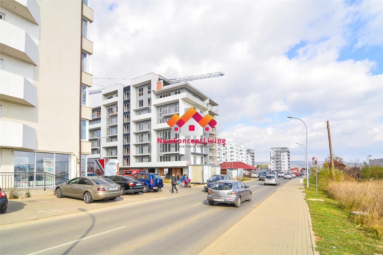 Apartament de vanzare in Sibiu - 2 camere + balcon 14.36 mp