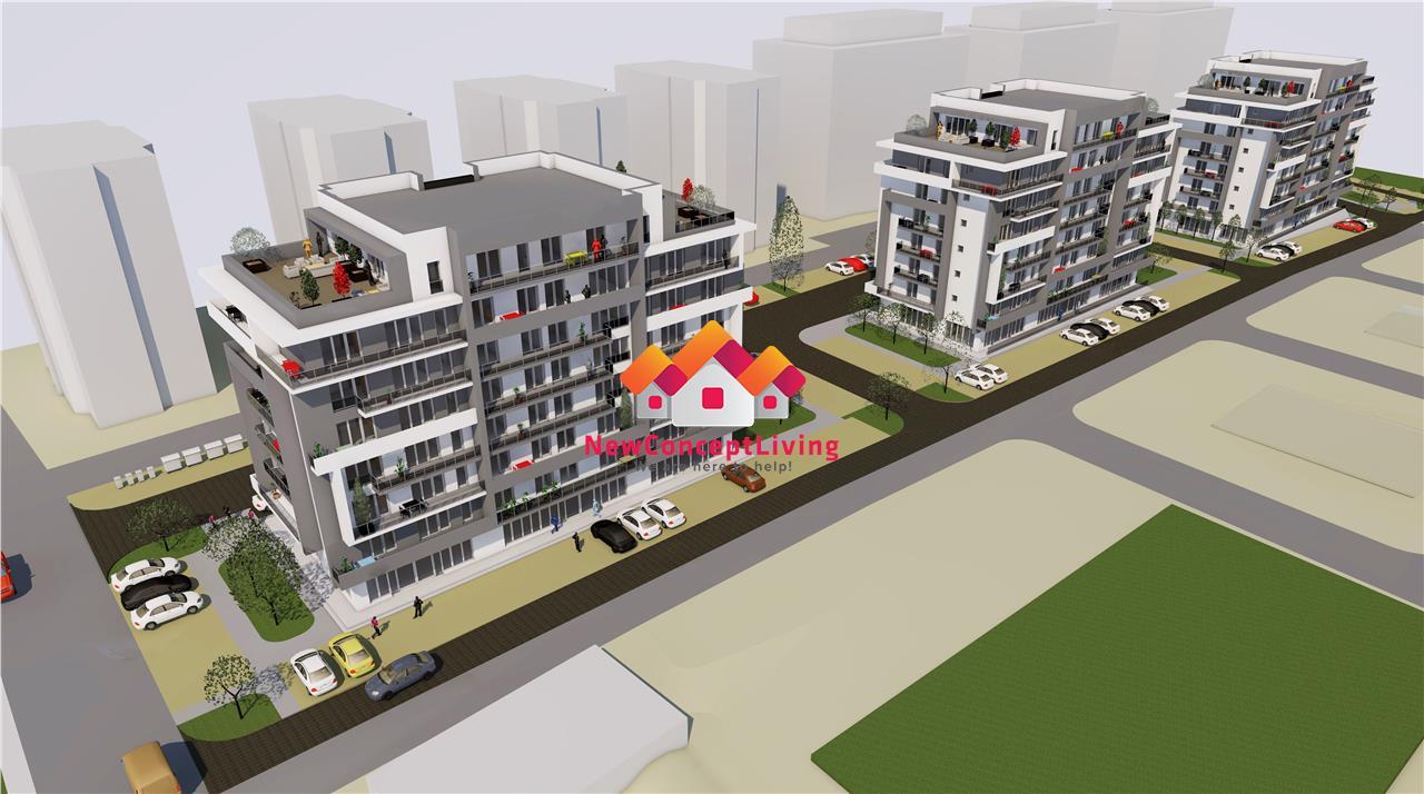 Apartament de vanzare in Sibiu 4 camere + balcon 19.46 mp