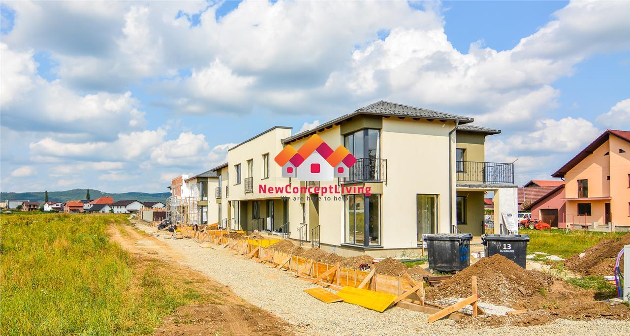 Casa de vanzare in Sibiu - in Triplex - Selimbar