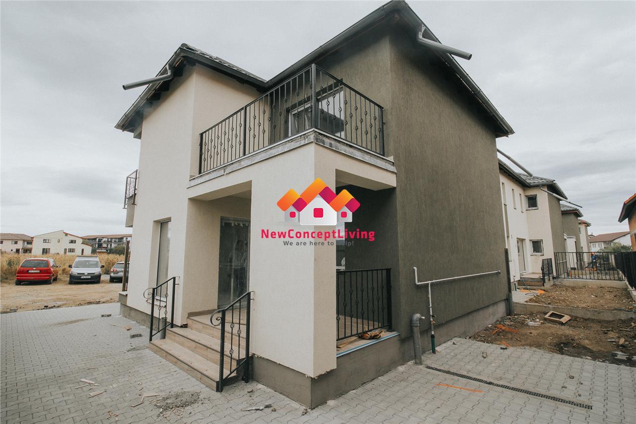 Casa de vanzare in Sibiu - INTABULATA - zona linistita in Selimbar
