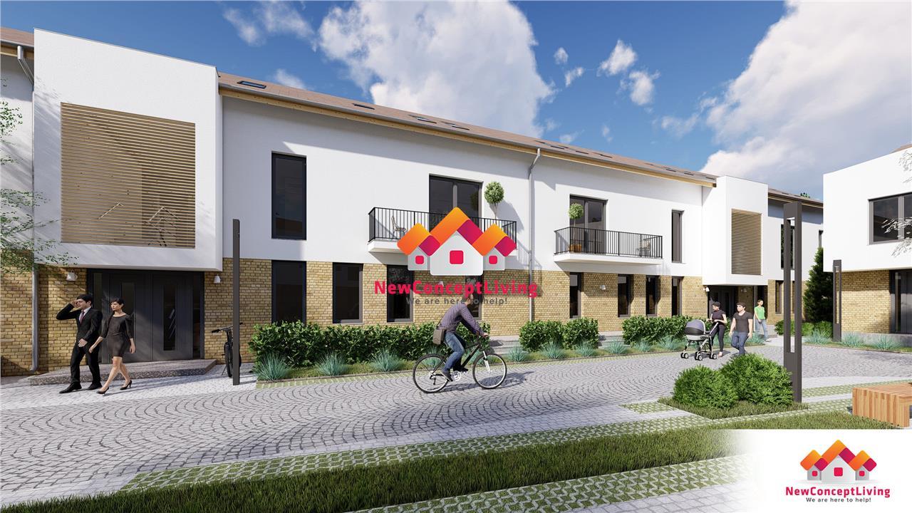 Apartament de vanzare in Sibiu - 3 camere - terasa mare + gradina
