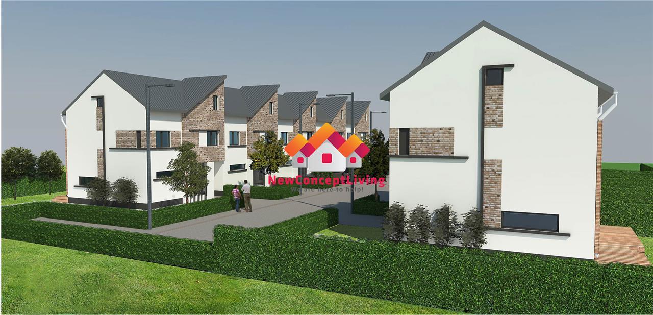 Apartament 3 camere - 59 mp utili + terasă și grădină