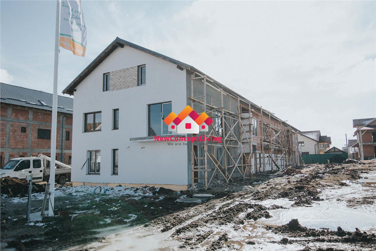 Apartamen de vânzare în Sibiu - 1 camera - teren de 84 mp
