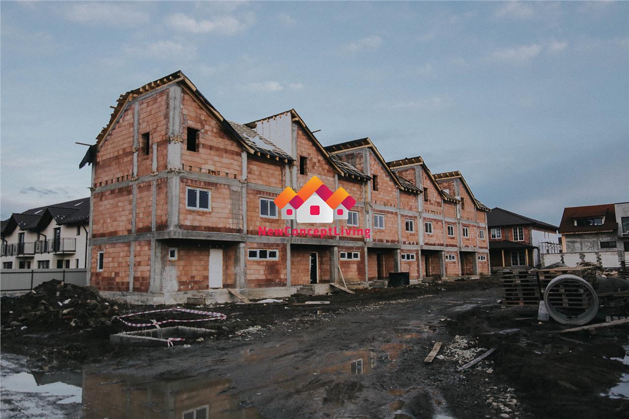 Apartament de vanzare in Sibiu - 3 camere + balcon - 80mp utili