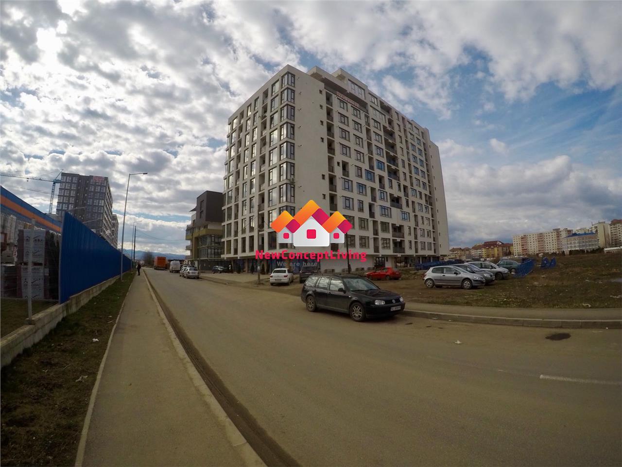 Apartament de vanzare in Sibiu - 2 camere + balcon 2.5 mp- locatie TOP