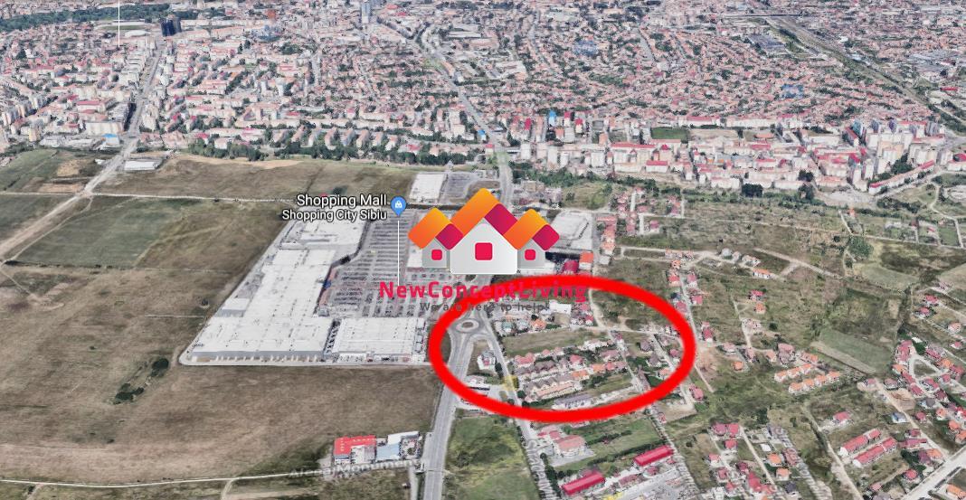 Apartament de vanzare in Sibiu 3 camere - Zona Mall + Loc de Parcare