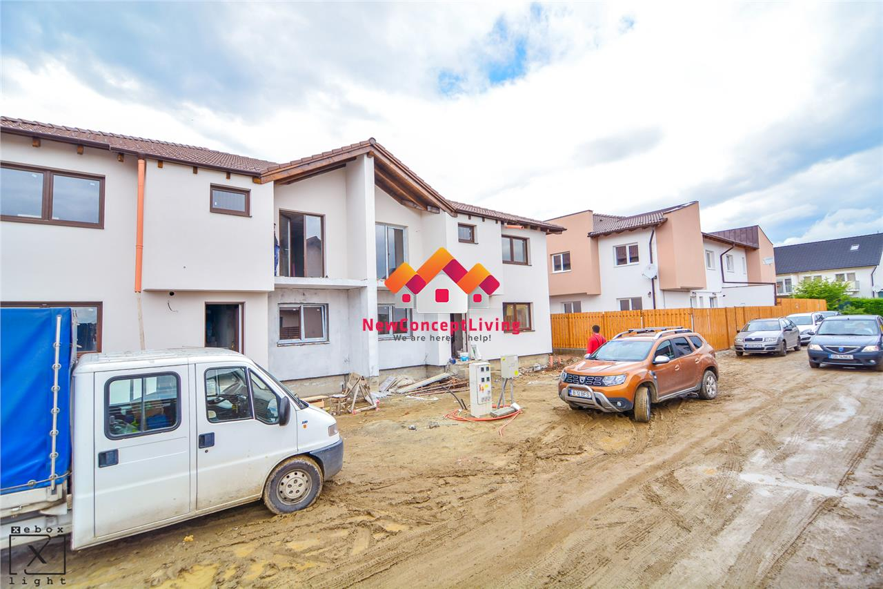 Casa de vanzare in Sibiu - 3 camere - 83 mp utili + Gradina