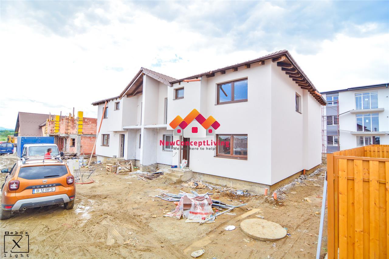 Casa de vanzare in Sibiu - 4 camere - Gradina Proprie Imprejmuita