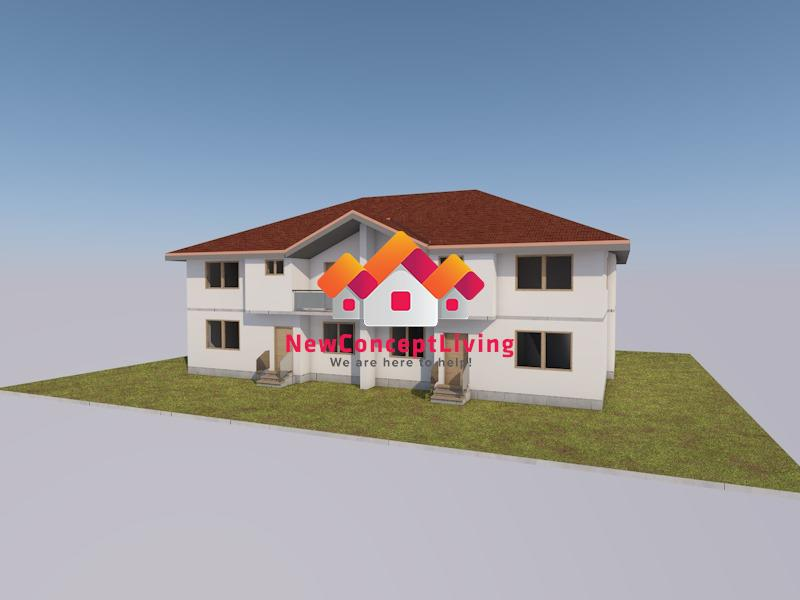 Casa de vanzare in Sibiu - 4 Camere cu Gradina Spatioasa