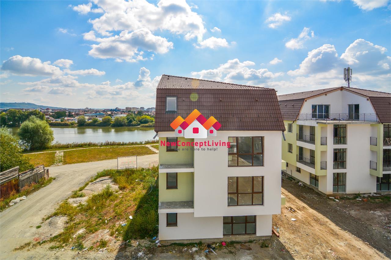 Apartament de vanzare in Sibiu-3 camere-decomandat-Lake Residence
